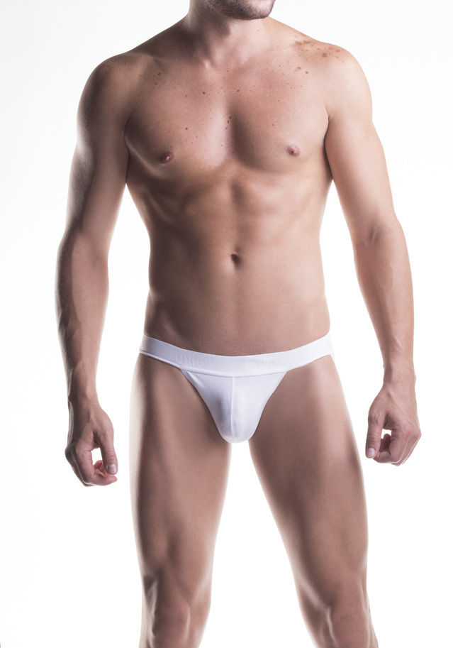 Mundo Unico Jock Strap Cup Cotton | White