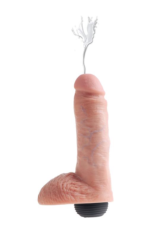 "King Cock: Dildo flesh Squirting 8""/ 20,3 cm"