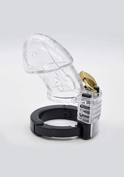 Brutus: Alpha Cage - Chastity Cage (clear)