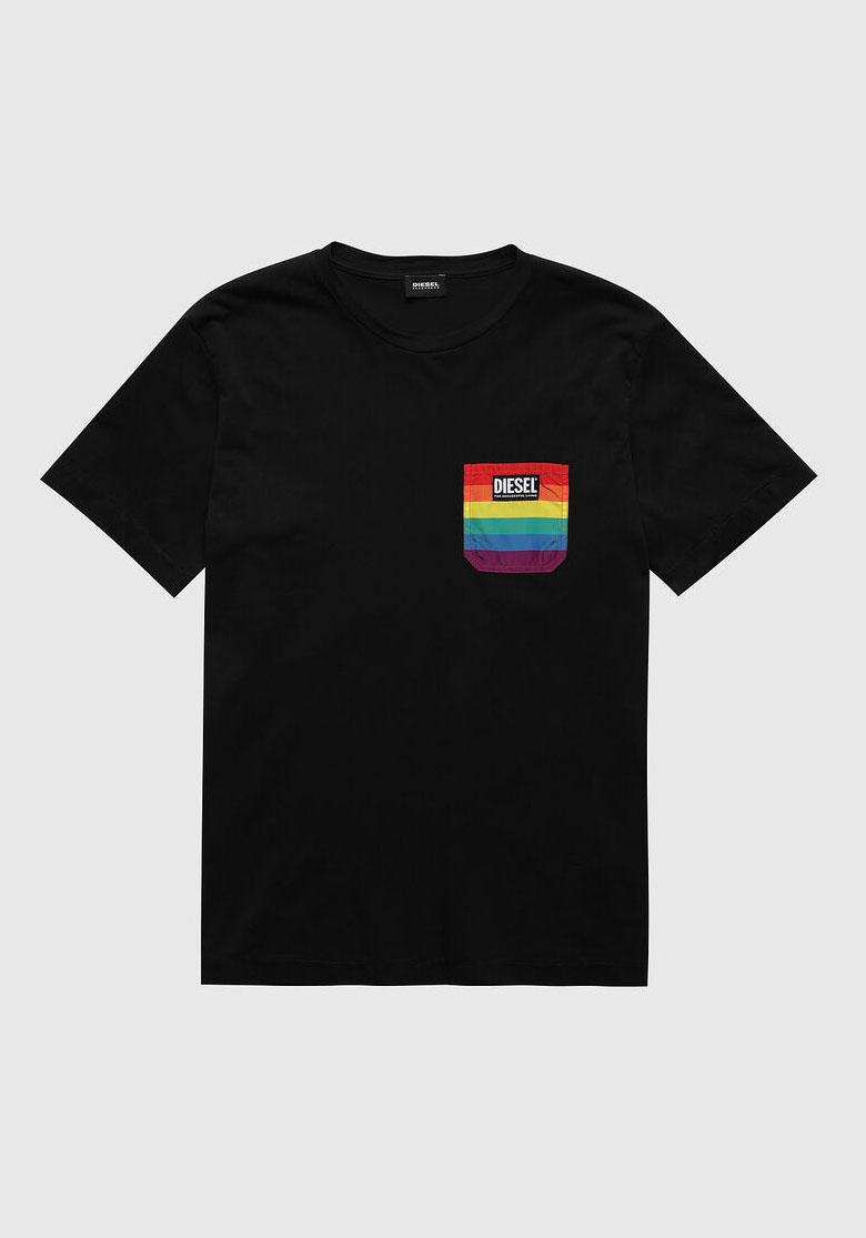 Diesel Pride Shirt DIEGO Black