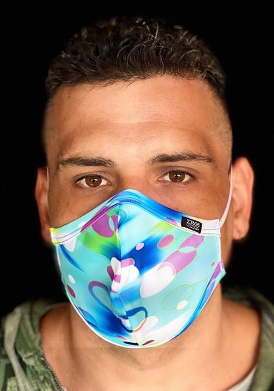EROS VENEZIANI Gesichtsmaske Blue Bubbles