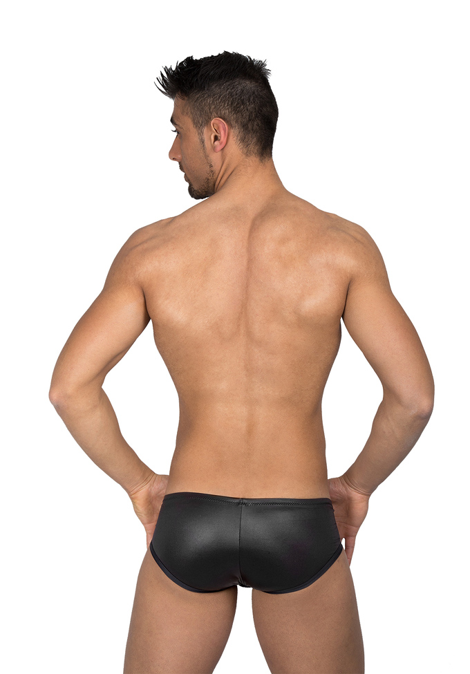 Eros Veneziani Wetlook Brief mit Push-Up
