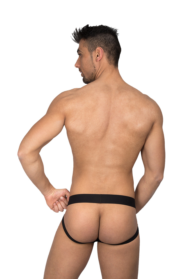 Eros Veneziani Wetlook Jock mit Cockring