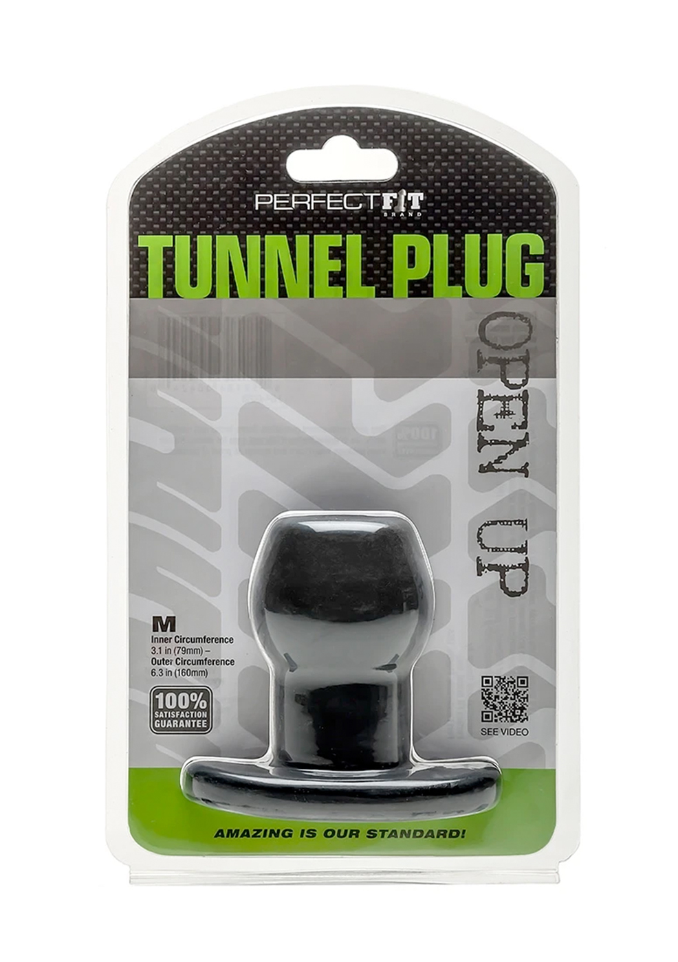 Perfect Fit: Tunnel Plug M (black)