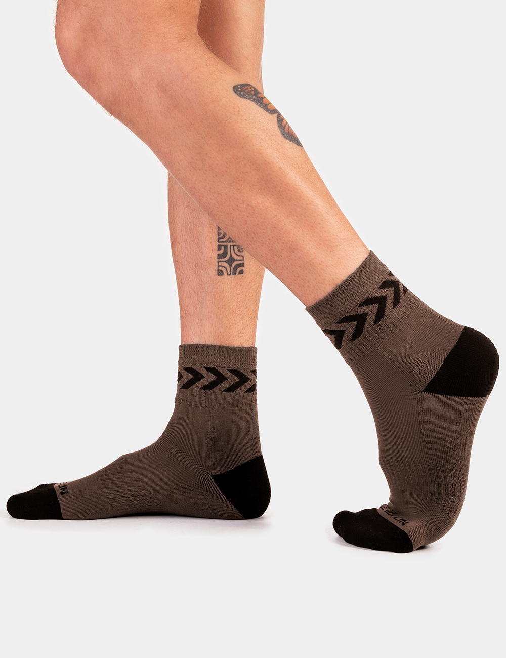 Barcode Berlin Petty Socks | Green|Black