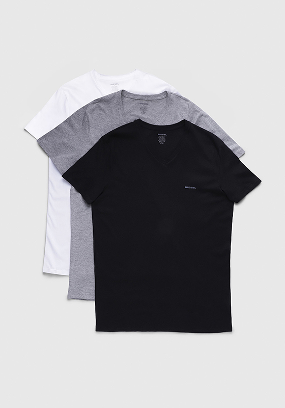 Diesel UMTEE-JAKE T-Shirt V-Neck 3-Pack