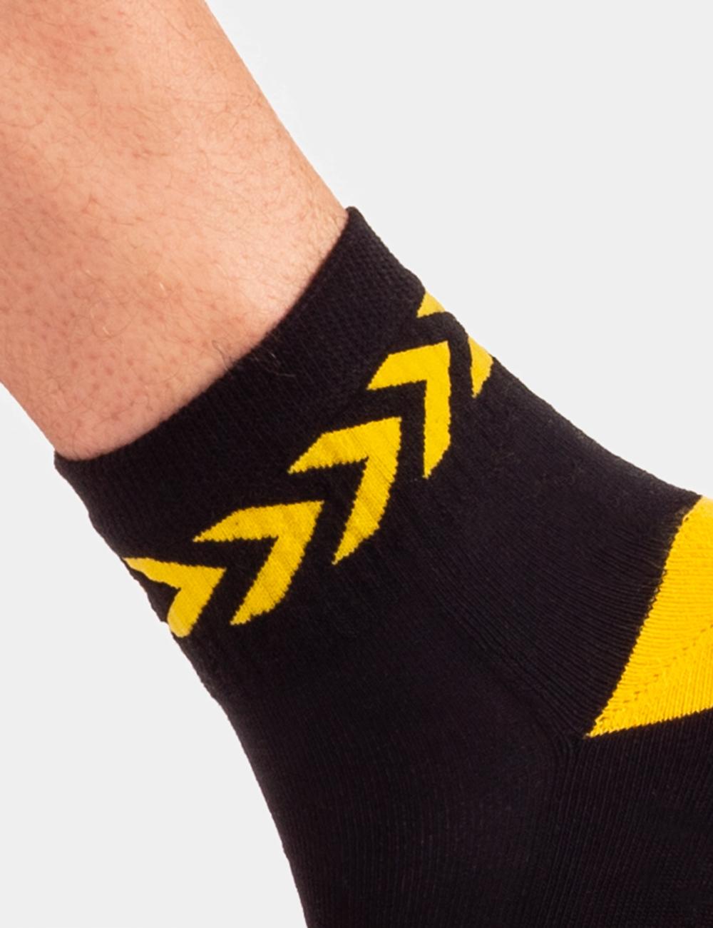 BC 91754 black-yellow L/XL Petty Socks SS20