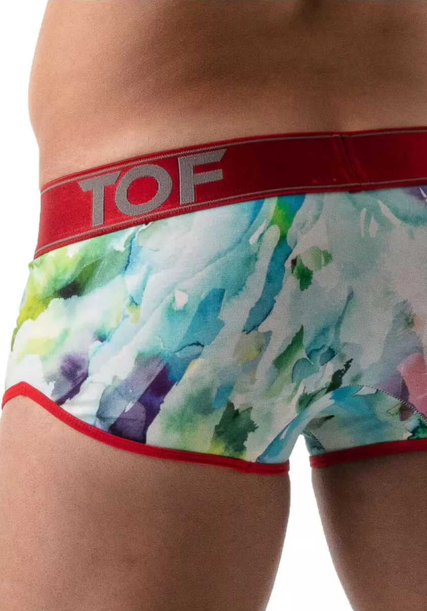 TOF Tie Dye Push-Up Trunk | Red