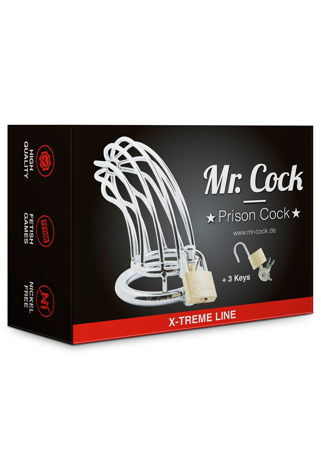 Mr. Cock: Prison Cock Cage | Ring Ø 50 mm