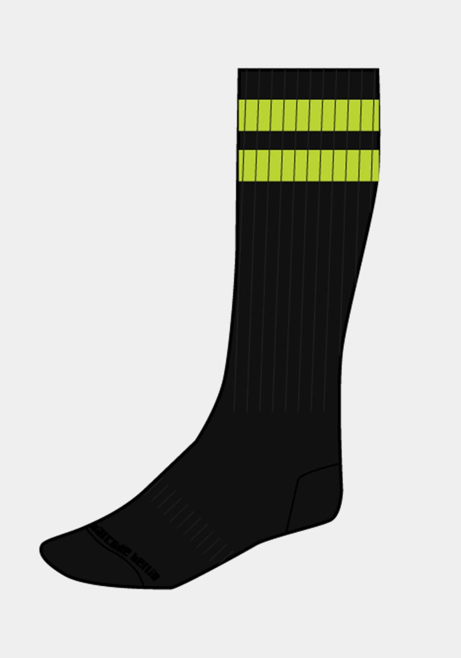 Barcode Berlin Gym Socks   Black/Green