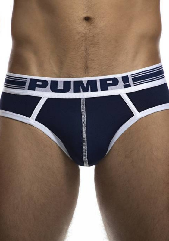 PUMP 12045 navy/white Sailor Brief