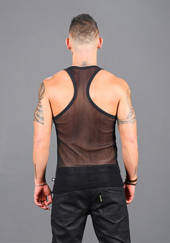 Andrew Christian Club Mesh Racer Back Tank
