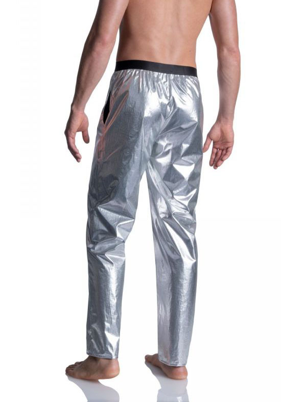 Manstore Long Pants | Silver
